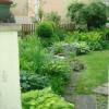 Weg in der Garten